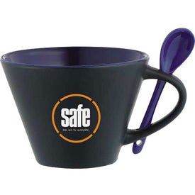 The Rancho Mug with Spoon for Your Company