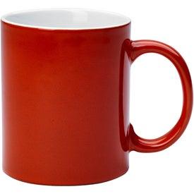 Reactive Glaze Stoneware Mug With C-Handle Giveaways