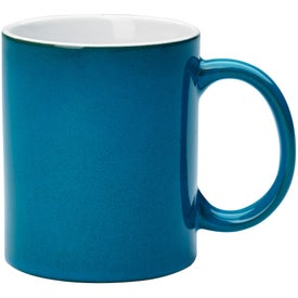 Reactive Glaze Stoneware Mug With C-Handle for your School