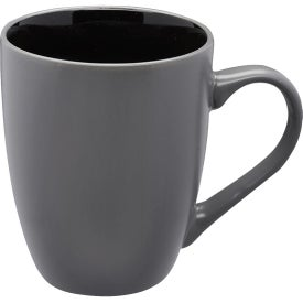 Rhodes Two-Tone Bistro Coffee Mugs (12 Oz.)