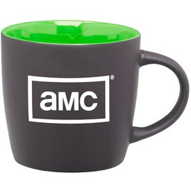 Roulette Ceramic Mug Branded with Your Logo