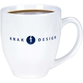 Shiny Bistro Mugs (15 Oz., White)