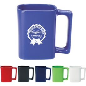 Square Mug (11 Oz., Colors and Two-Tone)