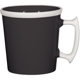 Square Up Mug with Your Logo