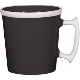 Square Up Mug with Your Logo