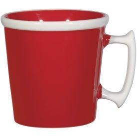 Printed Square Up Mug