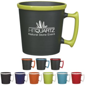 Square Up Mug for Promotion