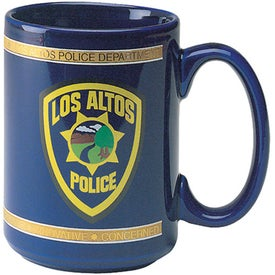Stoneware El Grande Mug with Your Logo