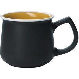 Stoneware Mug Imprinted with Your Logo