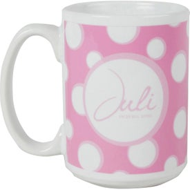 Sublimated Ceramic Mugs (15 Oz.)