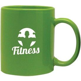 Sumatra Ceramic Mug Imprinted with Your Logo