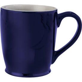 Stylish Cafe Mug with Your Logo