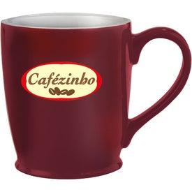 Imprinted Stylish Cafe Mug