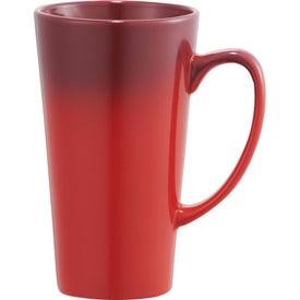 Custom Cafe Tall Latte Ceramic Mug