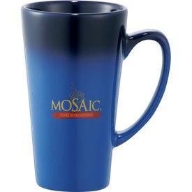 Customized Cafe Tall Latte Ceramic Mug