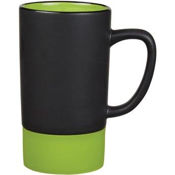 Matte Black/Lime Green