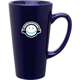 Tall Latte Mug (16 Oz., Dark Colors)