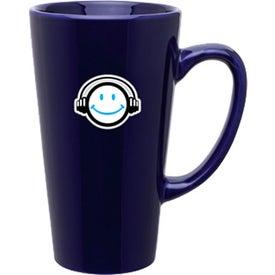 Imprinted Tall Latte Mug
