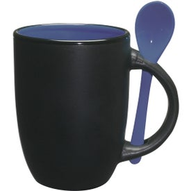 The Spooner Mug Imprinted with Your Logo