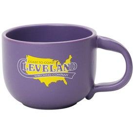 Branded Thumb Stop Handle Mug