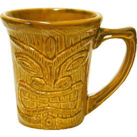Tiki Flair Mug with Your Logo