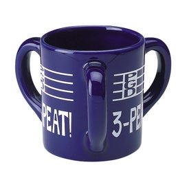 Triple Handle Mug (10 Oz.)