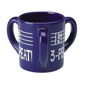 Triple Handle Mug (10 Oz.)