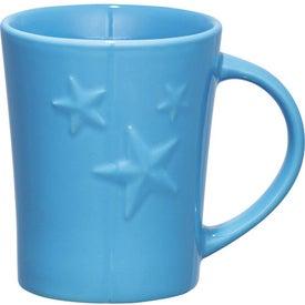 Twinkle Ceramic Mug Printed with Your Logo