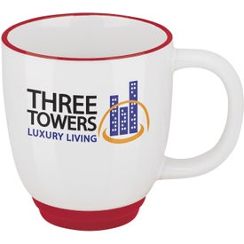 Promotional Two-Tone Bistro Mug