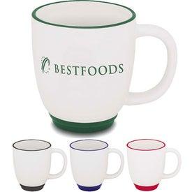 Logo Two-Tone Bistro Mug