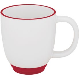 Two-Tone Bistro Mugs (14 Oz.)