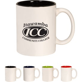 Two Tone C-Handle Mug (11 Oz.)
