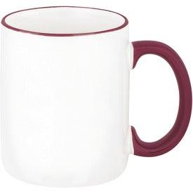 Printed Two-Tone Mug