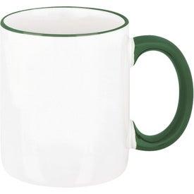 Two-Tone Mug Printed with Your Logo