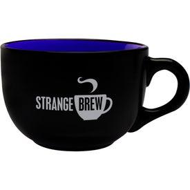 Two Tone Soup Mug with Handle (23 Oz.)