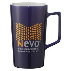 Venti Ceramic Mug Printed with Your Logo