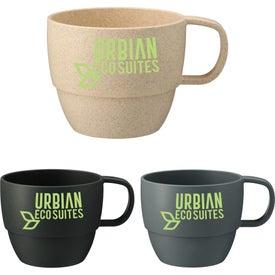 Vert Wheat Straw Mugs (13 Oz.)