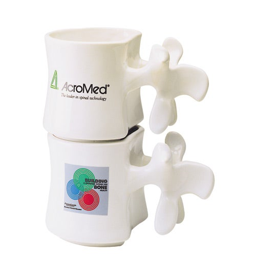 Promotional 13 Oz Vertebrae Mugs With Custom Logo For 6