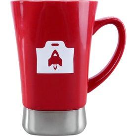 Vespas I Ceramic/Stainless Steel Mug with Your Logo