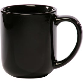 Vibrant Color Glossy Ceramic Mug (16 Oz., Colors)