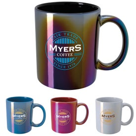 Vibrant Iridescent Mugs (11 Oz.)