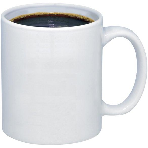 Budget Coffee Mug 11 Oz Custom Ceramic Mugs Ea
