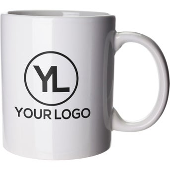 ff46c914cfb CLICK HERE to Order 11 Oz. Budget Coffee Mugs Printed with Your Logo ...