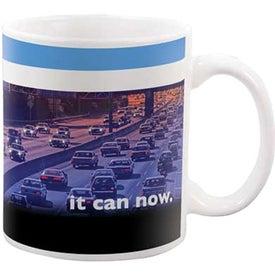 Company White Sublimation Magic Mug