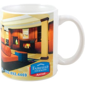 Promotional White Sublimation Mug