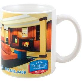 Promotional White Sublimation Mug