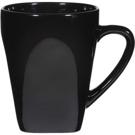 Yukon Mug (16 Oz., Black, Cobalt and Red)