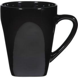 Yukon Mug (16 Oz., Black, Cobalt and Red)