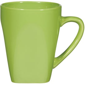 Yukon Mug (16 Oz., Yellow, Lime Green, Ocean Blue)