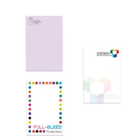 "Adhesive Sticky Note Pads (2"" x 3"" w/ 25 Sheets)"